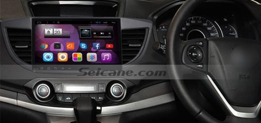 2012-2015 Honda CRV CD Player after installation