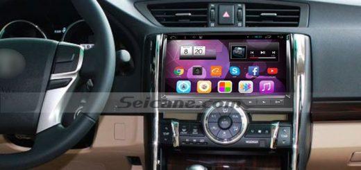 2015 Toyota REIZ car radio after installation