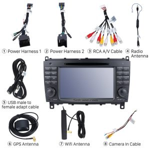 Check all the accessories for the new Seicane radio
