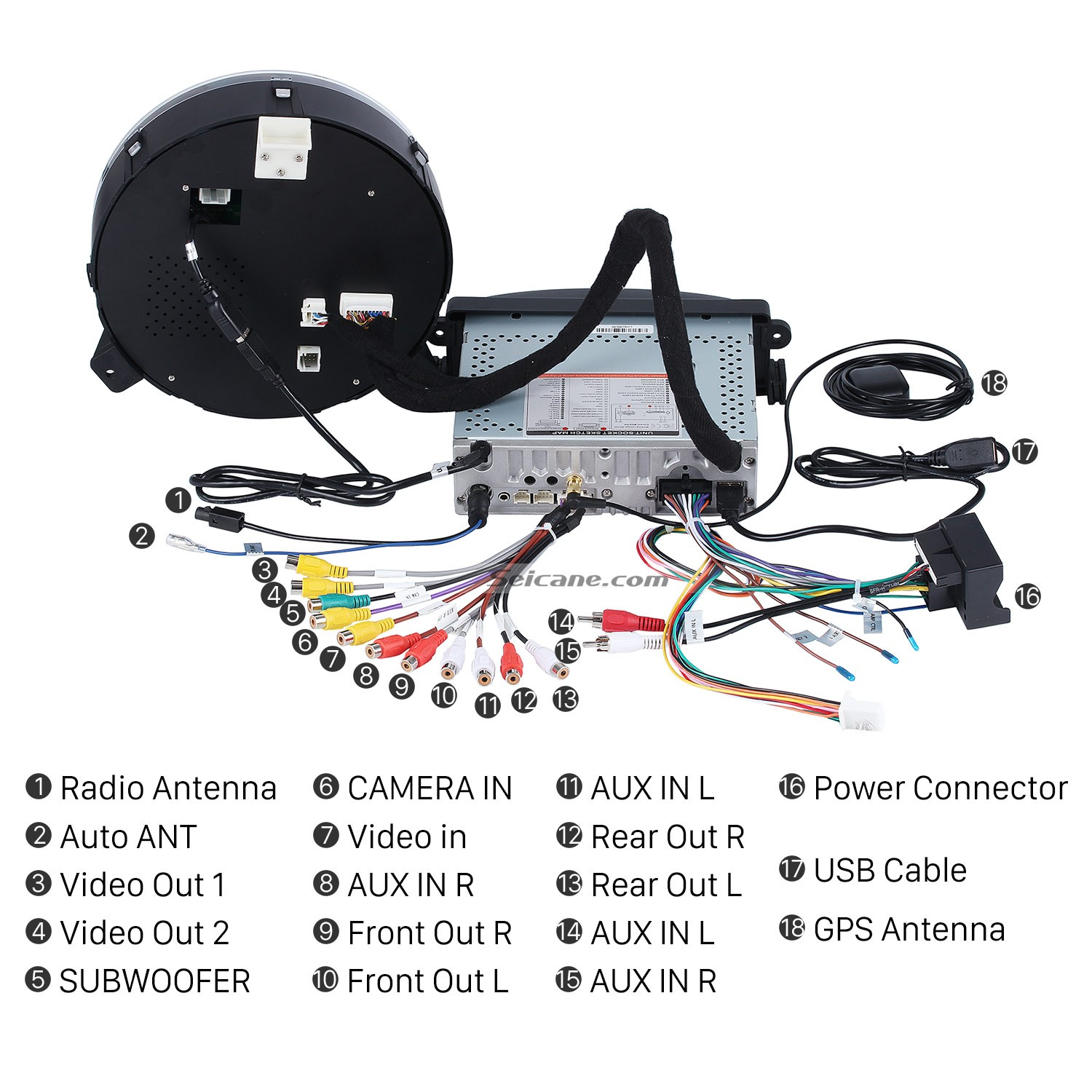 Best Tutorial on a 2006-2013 BMW Mini Cooper Audio Stereo ...