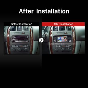 2002 2003 2004 CHRYSLER Concorde Bluetooth Radio after installation