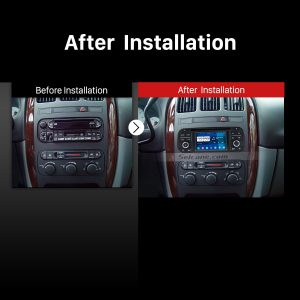 2002 2003 2004 Dodge Interpid car radio after installation