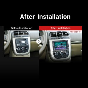 2005 2006 2007 Buick Terraza car stereo after installation