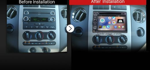 How To Upgrade A 2004 2017 Ford F150 F250 F350 Stereo Head Unit In Smart Way