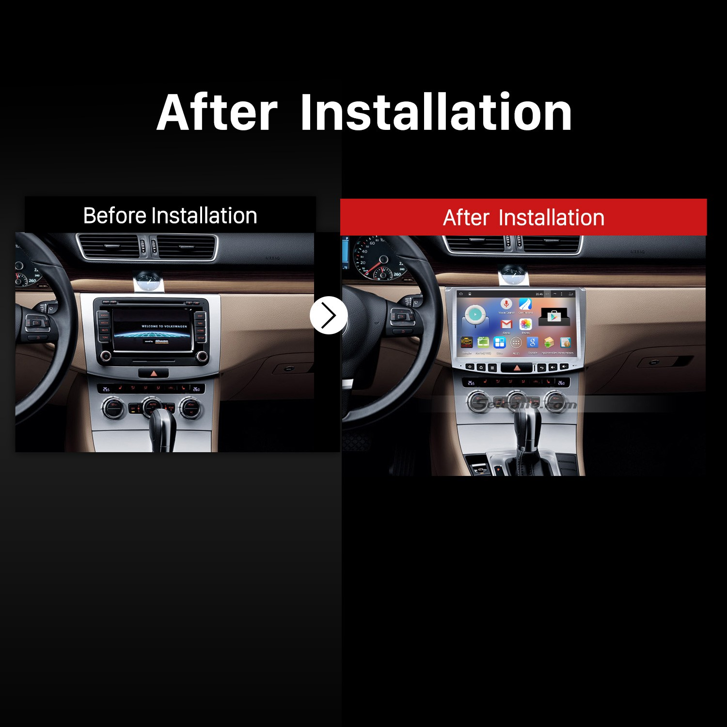 how to upgrade a 2012 2013 2014 vw volkswagen passat cc bluetooth stereo radio dvd car stereo faqs. Black Bedroom Furniture Sets. Home Design Ideas