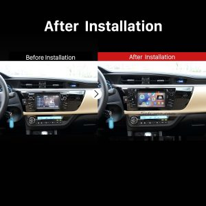 2013 2014 Toyota Corolla Stereo Sound System after installation