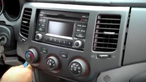 how to upgrade a 2004-2009 kia sportage car stereo with ... 2009 kia sportage radio wiring #11