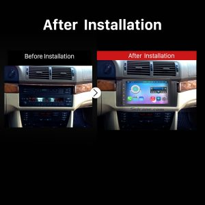 2002 2003 2004 Range Rover car stereo after installation