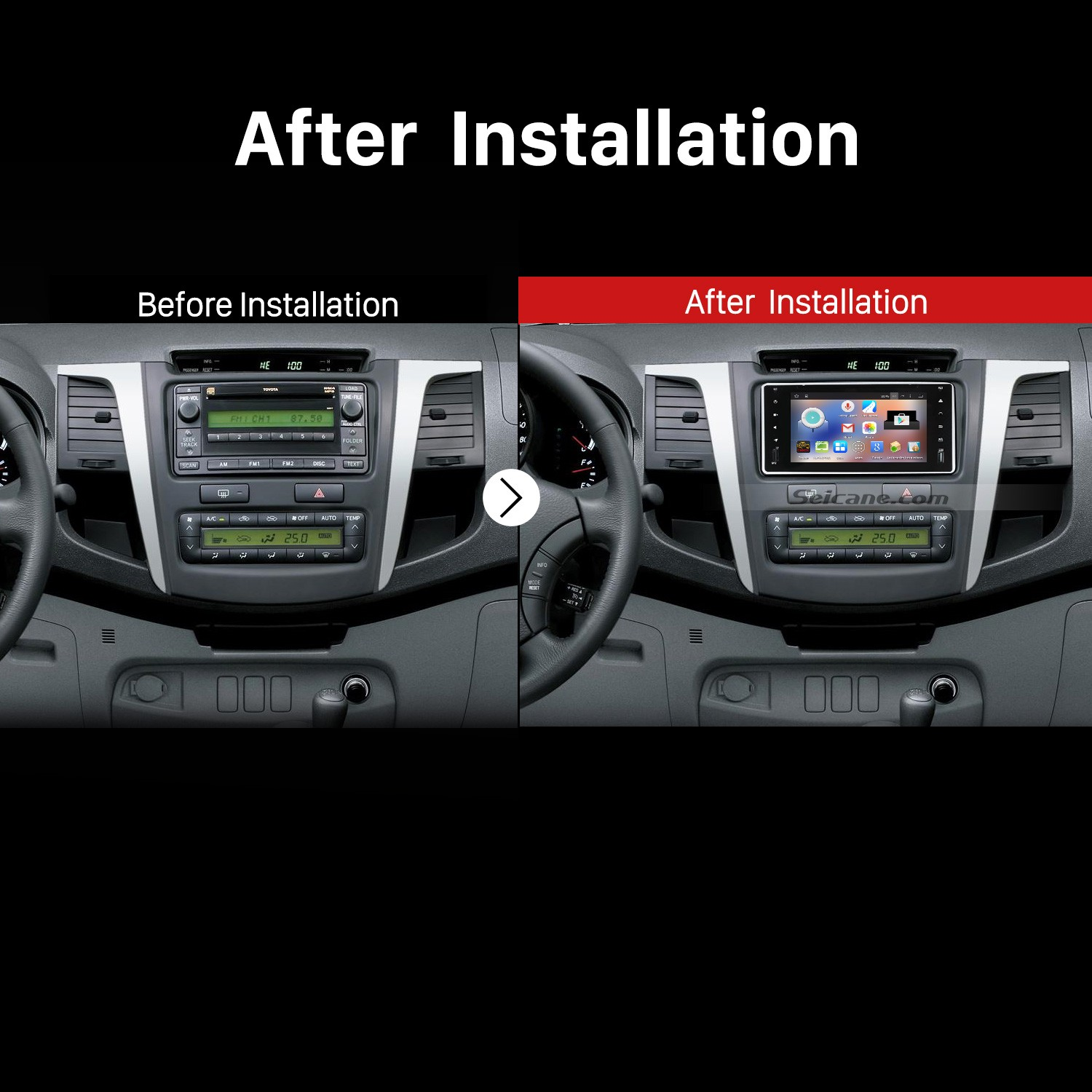 how to change aftermarket car radio