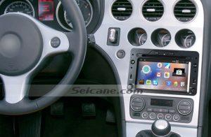 2005 onwards Alfa Romeo 159 Sportwagon Radio Stereo after installation
