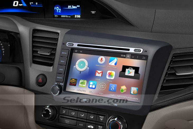 concise tutorial on a 2012 honda civic radio removal to a install a double din stereo cd player. Black Bedroom Furniture Sets. Home Design Ideas