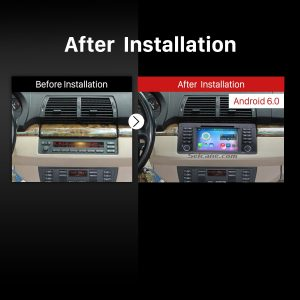 1996-2003 BMW 5 E39 520i 523i 525i 528i 528i SE 530i 535i 540i M5 Car Stereo after installation