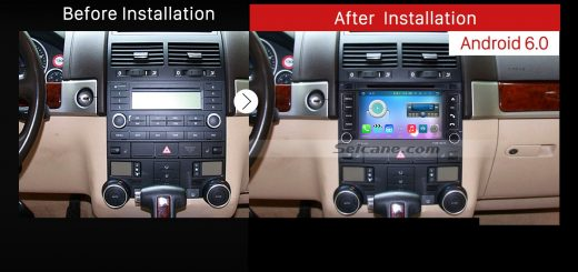2003-2014 VW Volkswagen T5 Multivan GPS Bluetooth DVD Car after installation