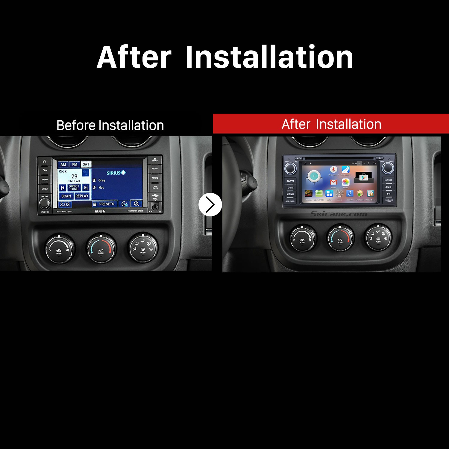 How To Install A 2009 2010 2011 Jeep Compass Touch Screen