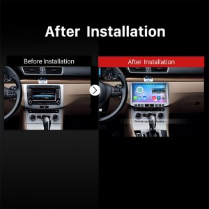 2012 2013 2014 VW Volkswagen Passat CC Car Radio after installation