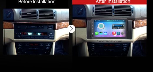 2000-2007 BMW X5 E53 3.0i 3.0d 4.4i 4.6is 4.8is Car Radio after installation