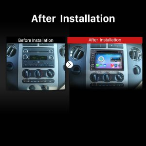2004-2014 Ford F150 F250 F350 Bluetooth Car Radio after installation