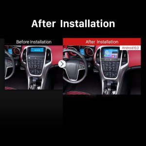 2010 2011 2012 2013 Vauxhall Astra Factory Radio after installation