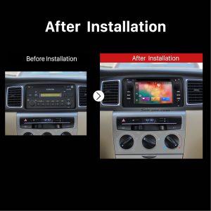 2003 2004 2005 2006 Toyota Corolla Bluetooth DVD Car Radio after installation