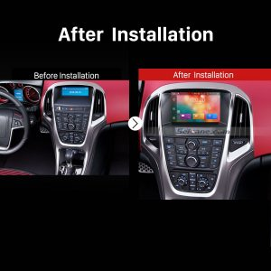 2010 2011 2012 2013 Opel Astra J DVD GPS Bluetooth Car Radio after installation