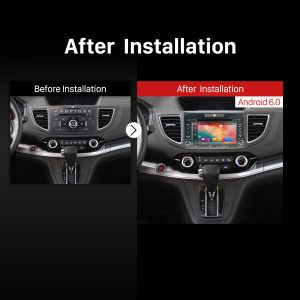 2012 2013 2014 Honda CR-V Car Stereo after installation