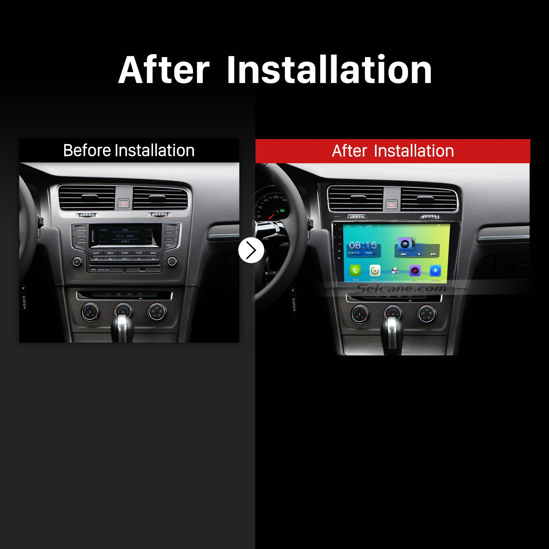 how to upgrade a 2013 2014 2015 vw volkswagen golf 7 car. Black Bedroom Furniture Sets. Home Design Ideas