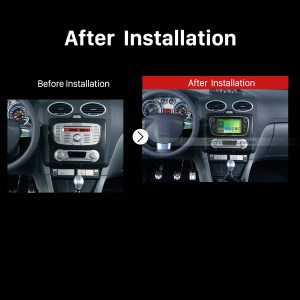2008 2009 2010 2011 Ford Focus GPS Bluetooth DVD Car Radio after installation