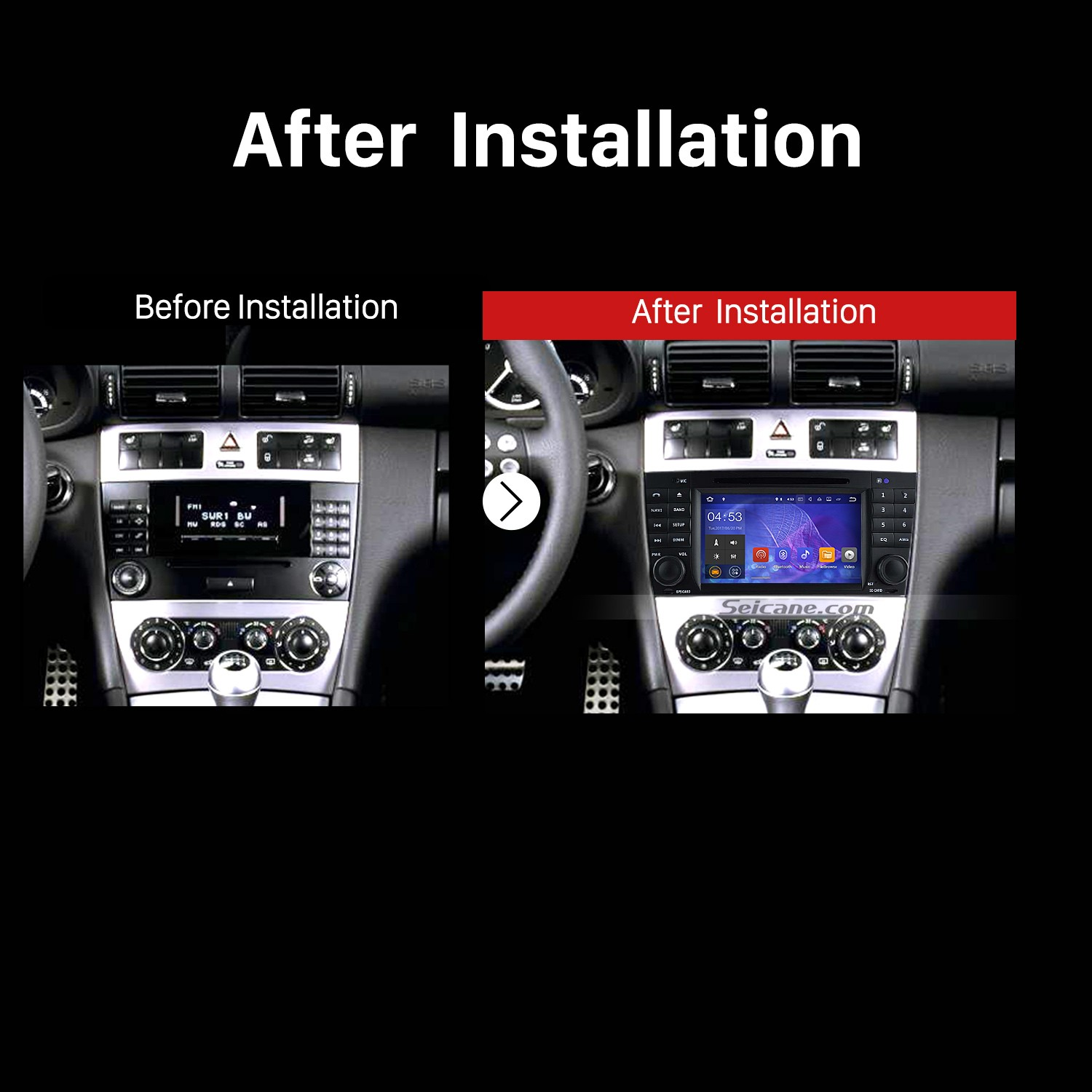 The Detailed Installation Instruction on a 2008 2009 2010 Mercedes