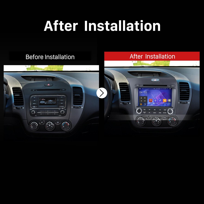 Photos of Car Radio Installation