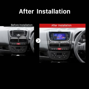 2014 FIAT DOBLO Car Radio after installation