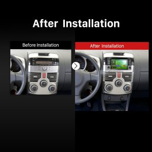 2006 2007 2008 2009 2010-2016 TOYOTA RUSH Second Generation Bluetooth Stereo after installation