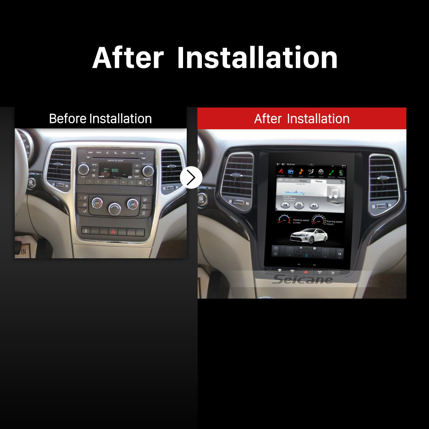 how to successfully install a 2011 2012 2013 jeep grand. Black Bedroom Furniture Sets. Home Design Ideas