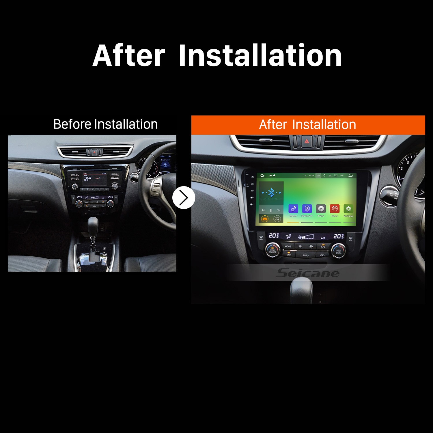 how to replace a 2014 2015 nissan qashqai radio with stereo gps audio system by yourself car. Black Bedroom Furniture Sets. Home Design Ideas