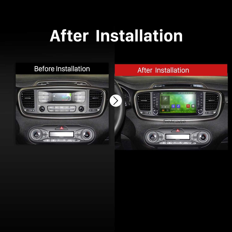 How to Upgrade a 2015 2016 KIA SORENTO GPS Bluetooth DVD Car