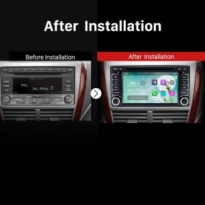 2008 2009 2010 2011 2012-2013 Subaru Forester Car Stereo after installation