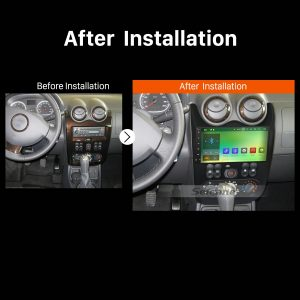 2011 RENAULT DUSTER Car Radio after installation