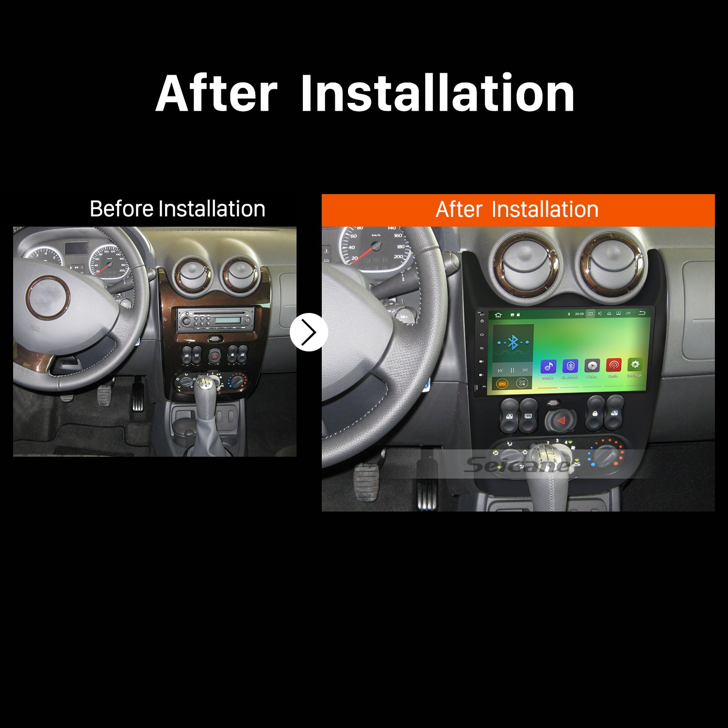 The Effective Way To Remove The Factory Radio And Install A 2011 Renault Duster Car Radio With