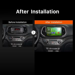 2014 2015 KIA KX3 Car Radio after installation