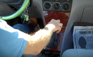 Adjust the shifter lever