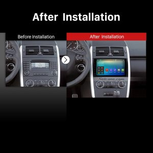 2000 2001 2002 2003 2004-2015 VW Volkswagen Crafter GPS Bluetooth Car Stereo after installation