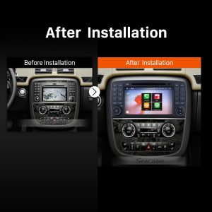 2006 2007 2008 2009 2010-2013 Mercedes-Benz W251 R Class R280 R300 R320 R350 R500 R63 Bluetooth Radio after installation