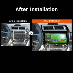 2012 2013 2014 2015-2017 TOYOTA CAMRY European American Car Radio after installation