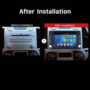 2004 2005 2006 2007 2008-2010 Nissan PATROL Radio after installation