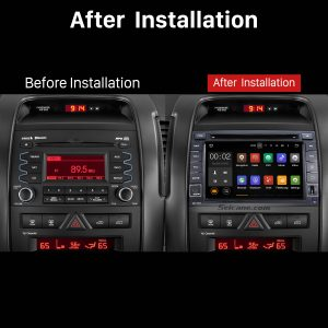 2010 2011 2012 KIA SORENTO Car Radio Stereo DVD Player after installation