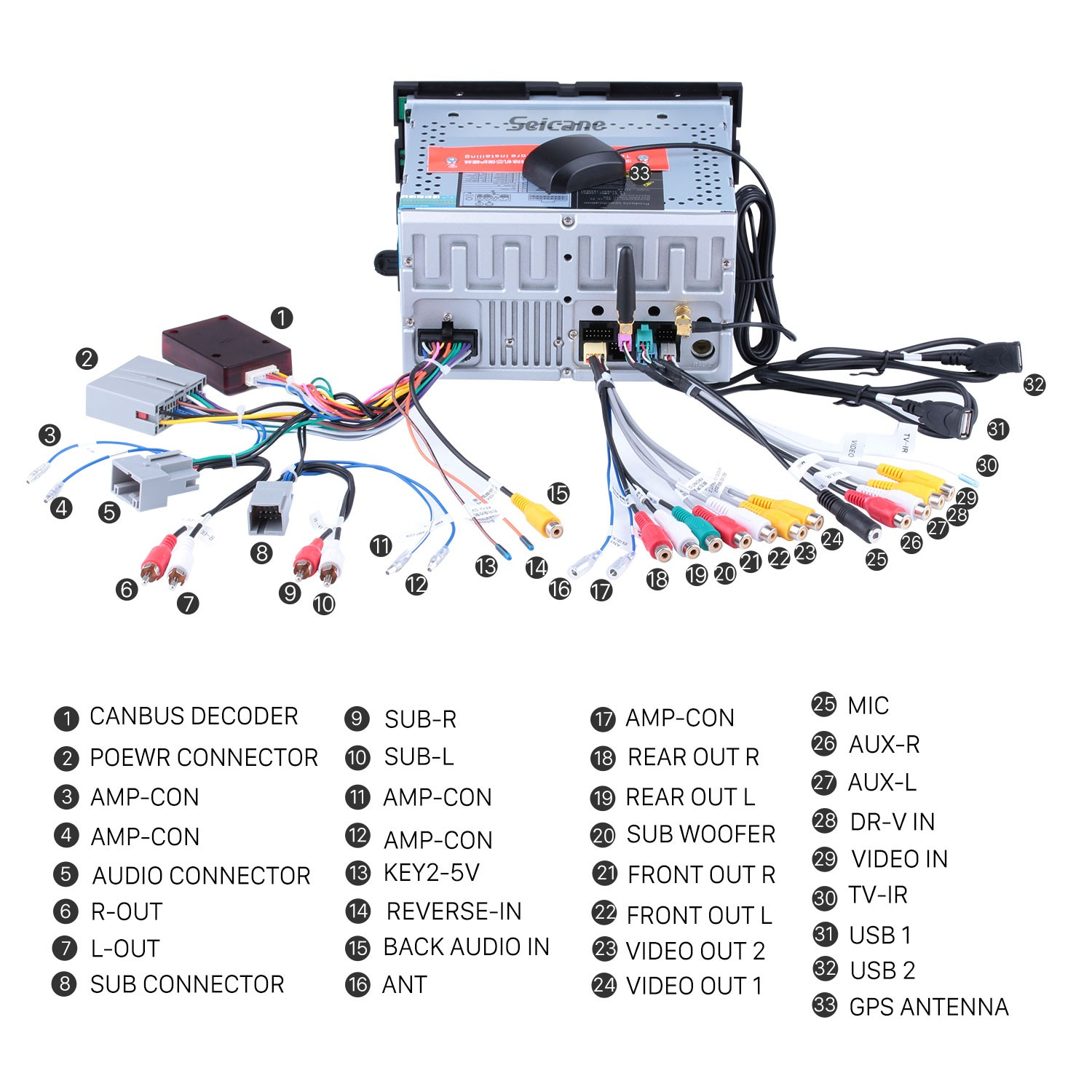 The Useful Instruction On A 2005 2006 2007 2008 2009 Ford Freestyle Freestar Wiring Harness Connect Harnesses To Back Of New Seicane Radio