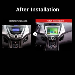 2011 2012 2013 2014 2015 Hyundai Elantra Car Radio after installation