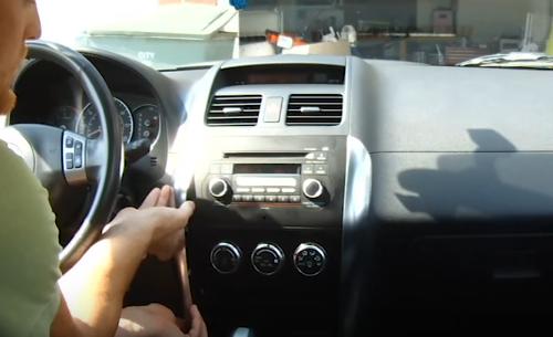 How To Remove The Radio In A Suzuki Sx