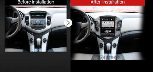2009 2010 2011 Chevrolet Cruze Factory Radio after installation