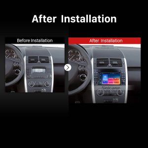 2000 2001 2002 2003-2015 VW Volkswagen Crafter Car Radio after installation