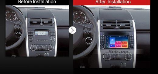 2000 2001 2002 2003-2015 VW Volkswagen Crafter Car Radio after installation
